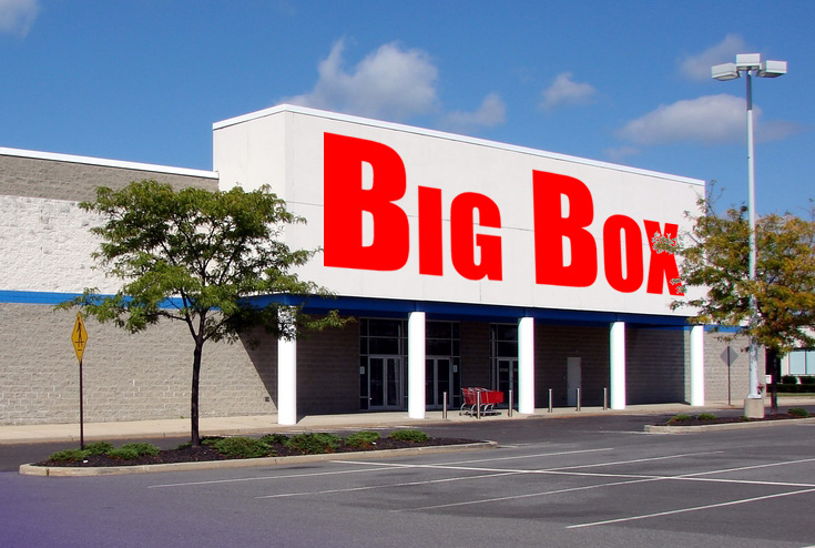 big box stores 4 reviews of big box outlet store definitely a stop for those that like a deal, i live near by and stop by frequently some times i don't get nothing but there are times i walk out sold outdoor, home, furniture, tech, auto, clothing, i gave it a.